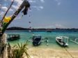 Gili Meno, an island off Bali.
