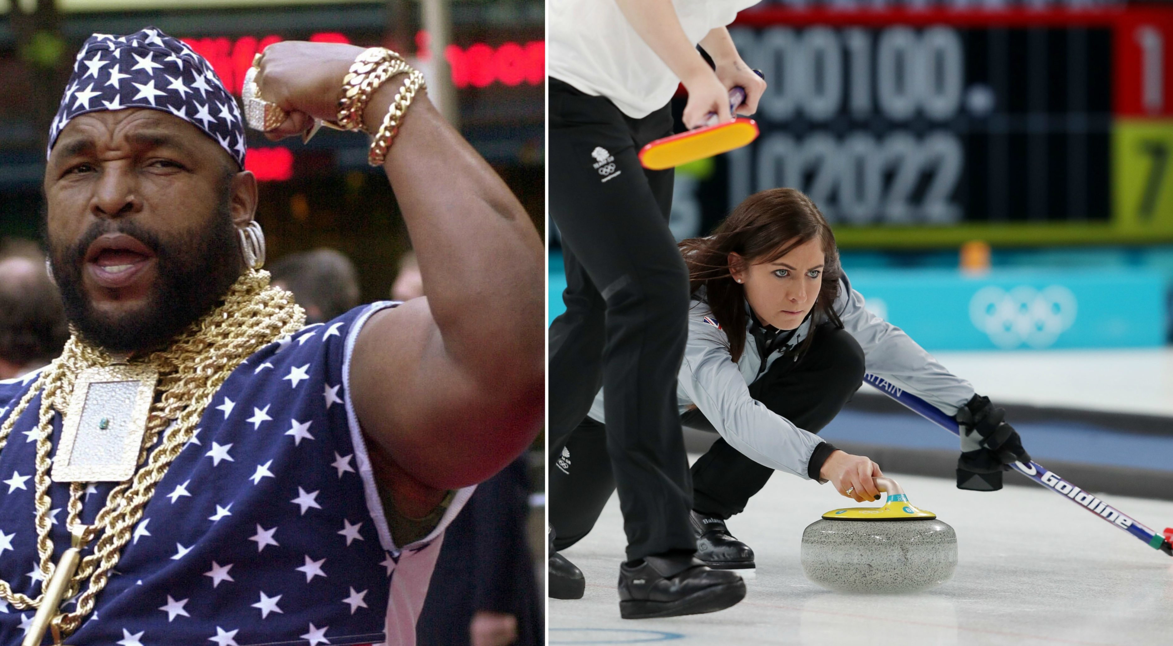 Curling is cool, fool!' - Is Mr T backing our Eve in the