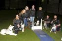 Perthshire Streamliners have qualified to compete at Crufts. Picture Shows; the team l to r - George Kennedy with Nero, Elaine Kennedy with Orion, Natasha Derkacz with Rollo, the teams Box Loader, Katherine Bastianelli, Linda Roger with Shep, Anna Hardie with Swift and Phil Wilkinson with Prada.