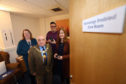 The opening of the new telecare demonstration room at Kirrie Connections.