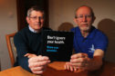 Cupar men Peter Manson, right, and Douglas Provan have both undergone treatment for prostate cancer and are calling for screening to be improved following recent stats that show more men die of prostate cancer than women do of breast cancer.