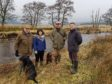 Tony Andrews (Chair- River South Esk Catchment Partnership) – Kelly Ann Dempsey (Programme Manager - River South Esk Catchment Partnership) Dee Ward (Rottal Estates) Craig MacIntyre (Esk Rivers & Fisheries Trust)