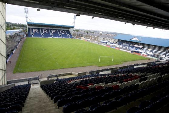 Stark's Park, home of Raith Rovers FC