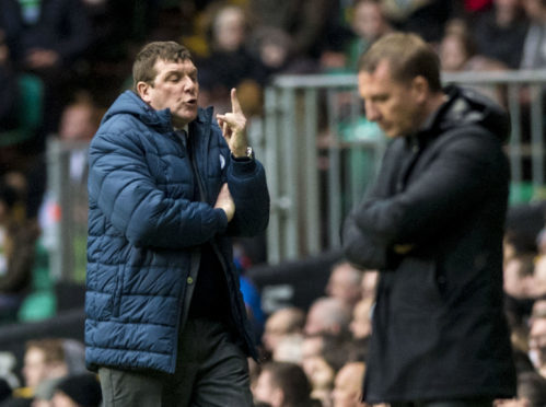 Rodgers questions St Johnstone players after Celtic draw