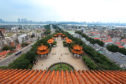 Wuhan city in China.