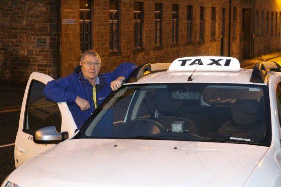 Dundee Taxi Association chairman Graeme Stephen.