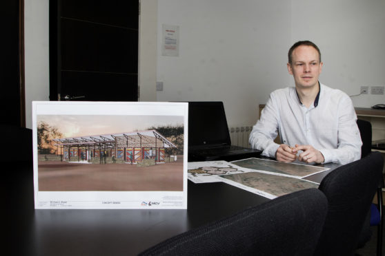 Jonathan Reeve is heading to Kenya on March 13 to present designs for a building for the Maasai tribe