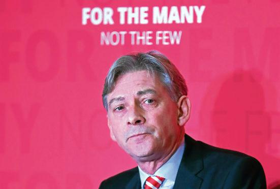 Scottish Labour leader Richard Leonard