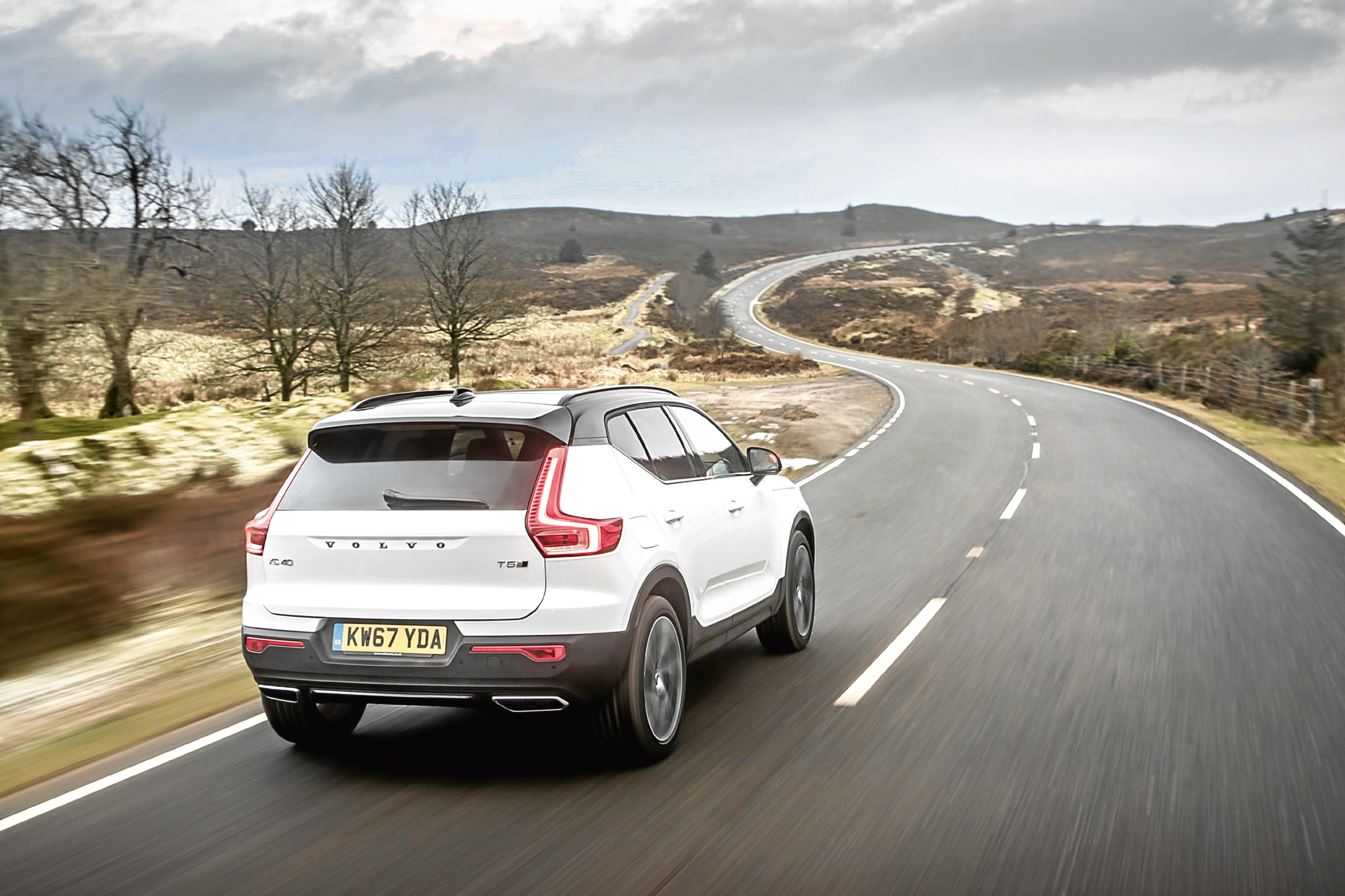 baby volvo xc40 suv rules the roost the courier. Black Bedroom Furniture Sets. Home Design Ideas