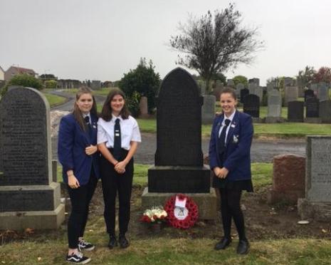 Colette McCourt, Caitaidh Thomson and Tabitha Kobine.