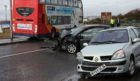Road accidents in Angus have increased.