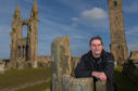 Rick Falconer, author and Ghost Tour Operator at St Andrews Cathederal