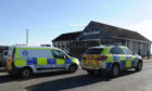 Police attend the incident in Buckhaven