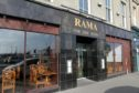 Courier restaurant review -  Rama Thai restaurant in Dock st Dundee, saturday 24th february.
