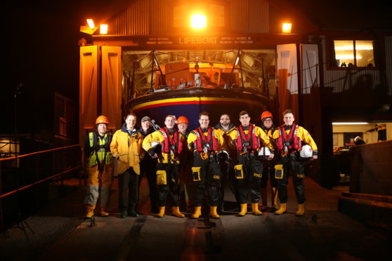 Arbroath lifeboat crew