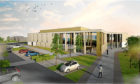 An artist's impression of the new Menzieshill Community Centre.