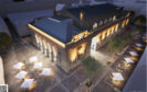 The design by architects Mecanoo for Perth City Hall.