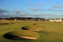 The Championship Links at Carnoustie Golf Club.