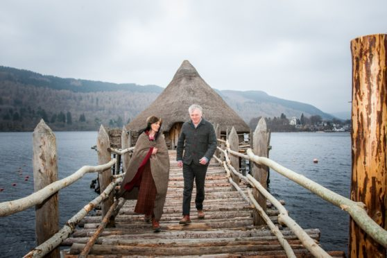 Gayle Ritchie meets Mike Benson, the new director of the Scottish Crannog Centre ahead of Celtic Spring.