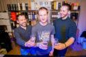 Pieter Rosenthal, Alex Woodward and Fraser Cruickshank, all of The Good Spirits.