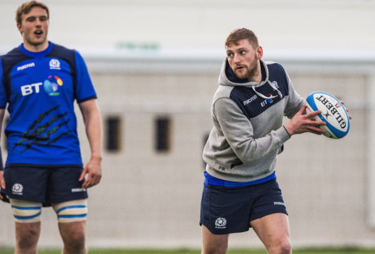 Finn Russell is looking forward to Rome and finishing the 6 Nations on a high.