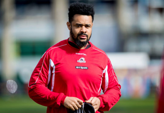 Edinburgh's Darryl Marfo is back in training and ready for Edinburgh's exciting season run-in.