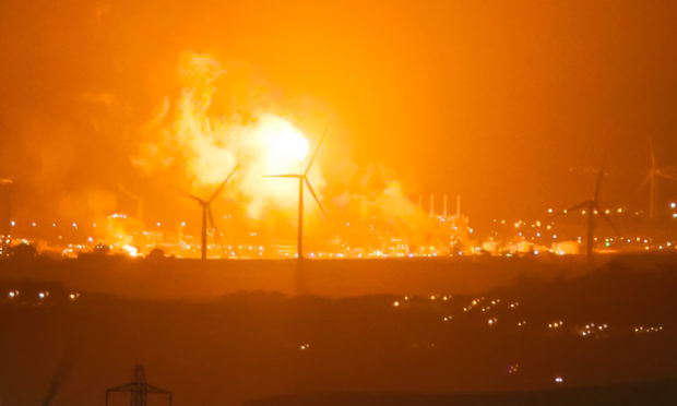 Flaring at Mossmorran has long concerned local residents.