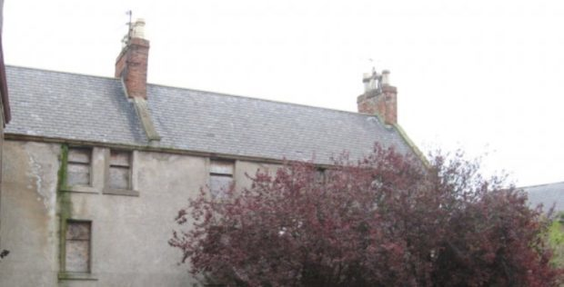 Plans lodged to renovate crumbling Montrose house where Scotland's
