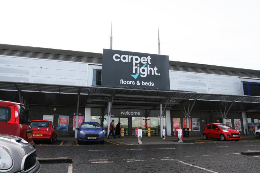 Tayside and Fife jobs at risk from Carpetright store closure plans - The Courier