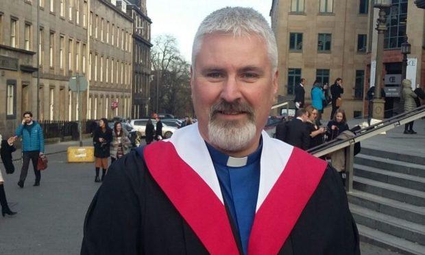 The Rev Mike Weaver.