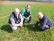 All eyes are now on the performance of the Banchory Farm field where every input is being measured and analysed.
