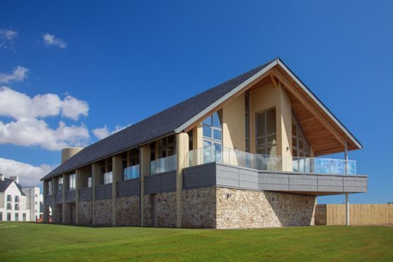 The new golf centre at Carnoustie Links has opened.