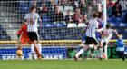 Dunfermline's Nicky Clark (10) scores to make it 2-2.