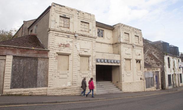 The former Flicks nightclub.