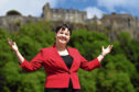 Ruth Davidson is expecting her first child with her partner Jen Wilson.