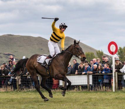 Amateur jockey Cameron Wadge.