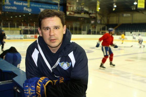 Fife Flyers Head Coach Todd Dutiaume.