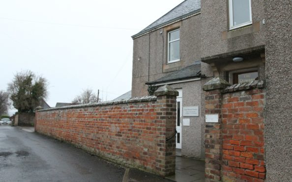 The old Carse Medical Practice in Errol.