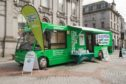 Macmillan Beryl Bus gets out and about, but four new facilities will give information and support in Fife.