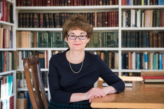 Professor Sally Mapstone, principal and vice-chancelllor of St Andrews University