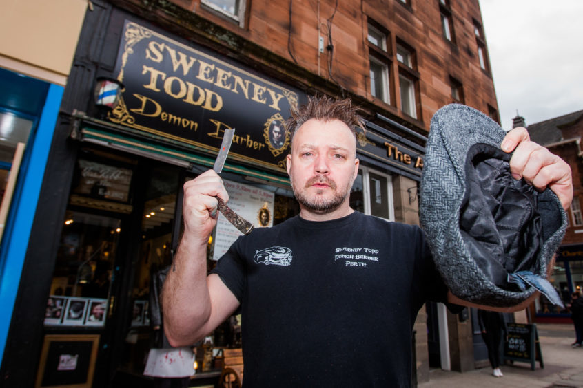 552edc21 Perth barber backs down in Peaky Blinders trademark row - The Courier