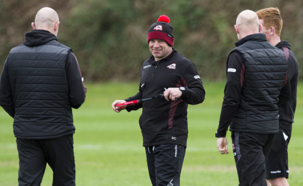 Richard Cockerill is plotting Glasgow's demise in the third leg of the 1872 Cup.