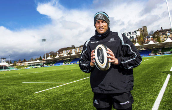 DTH Van Der Merwe makes his 100th appearance for Glasgow in today's 1872 Cup clash.