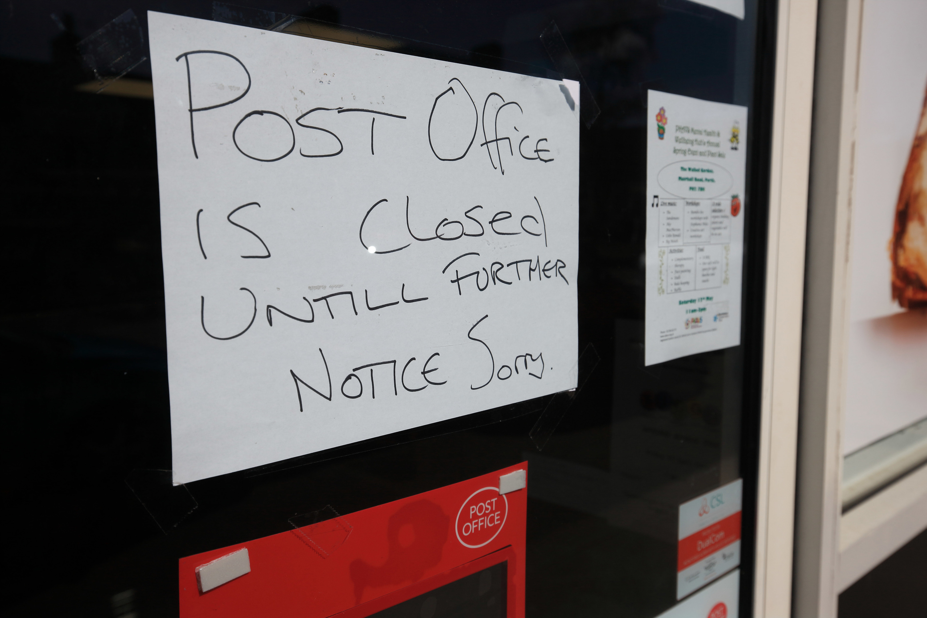 Post Office closes suddenly after customer complaints - The Courier