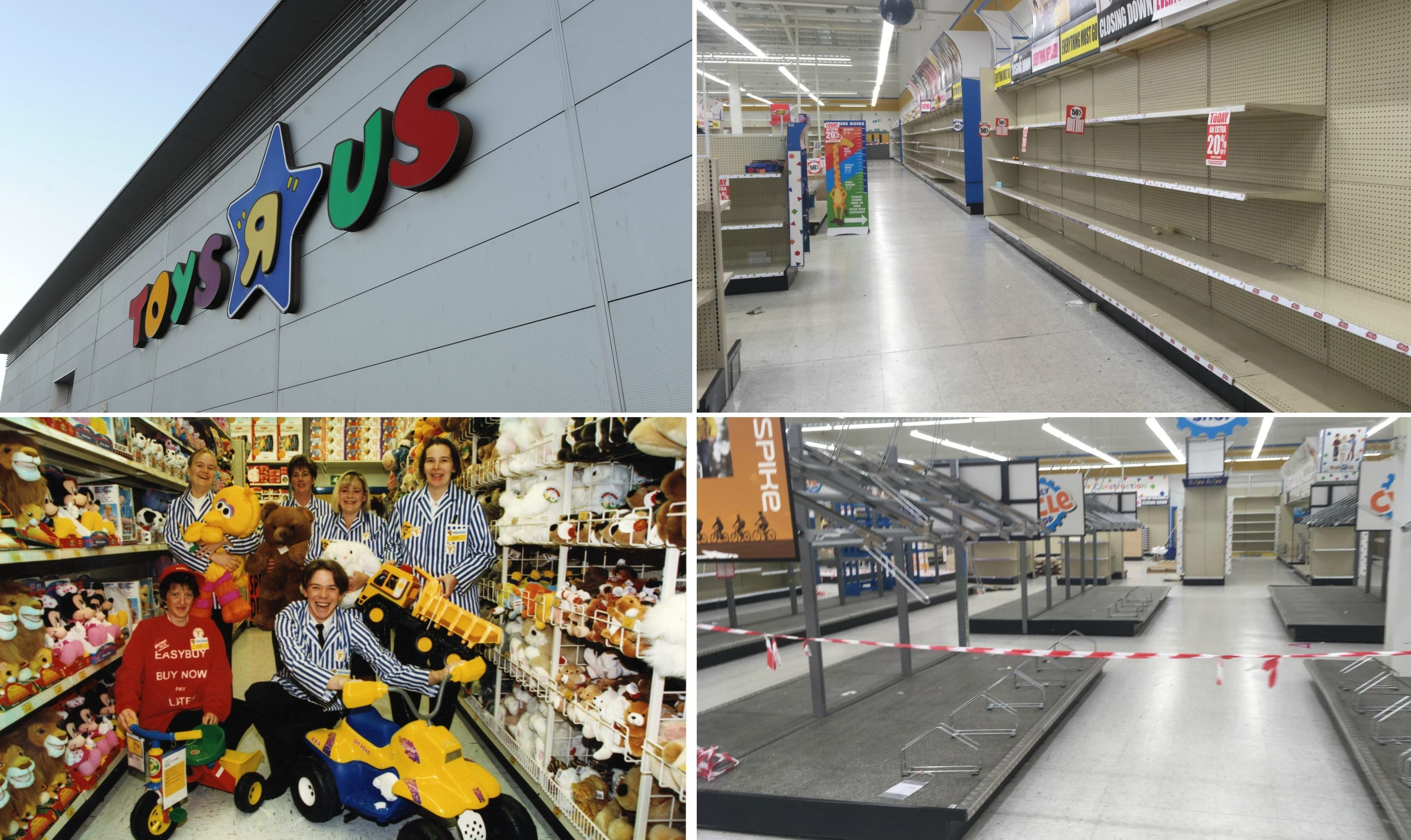 Pictures End Of An Era As Toys R Us Dundee Left Almost Totally