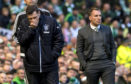 Graeme Murty suffered a heavy defeat to Celtic in what proved to be his final game in charge of Rangers.