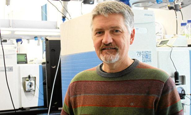 Professor Angus Lamond of Platinum Informatics.