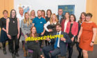 The manager of Perth Accelerator Caryn Gibson and Finlay Kerr, PKC Project Officer, surrounded by the participants on Perth's first Accelerator programme.
