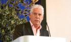 Callum Falconer, chief executive of Dundeecom, addresses the 'Sea Change' conference