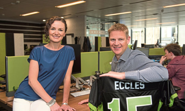 FanDuel founders Lesley and NIgel Eccles